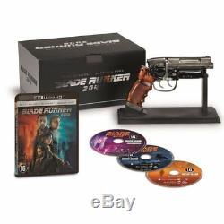 Blu-ray Blade Runner 2049 Limited Edition Blu Ray + 4k Blu Ray + Gun + Bonus