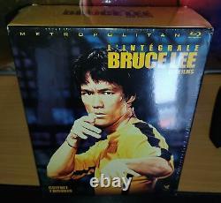 Blu-ray Bruce Lee -integral Box 7 Discs Rare New Under Blister