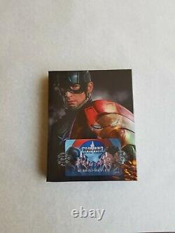 Blu-ray Captain America CIVIL War 2disc2d+3d Fullslip Steelbook Weetcollection