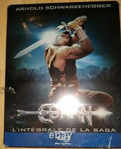 Blu-ray Conan The Complete Steelbook Saga Very Rare Neuf In Blister