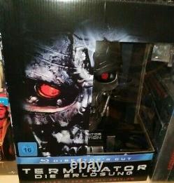 Blu-ray Terminator Salvation (renaissance) Limited T-600 Skull Edition Tbe
