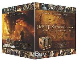 Blu-ray The Hobbit And The Lord Of The Rings, Trilogies Edition Collector