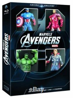 Bluray Combo Box Avengers 3d Collector's Edition
