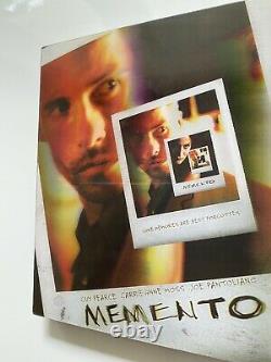 Bluray Steelbook Memento Lenticular Kimchi. Kimchidvd. Christopher Nolan