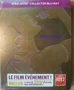 Bohemian Rhapsody Collector Steelbook Blu Ray Nine Sub Cellophane