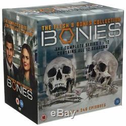 Bones DVD Seasons 1 To 12