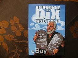 Box 10 DVD Dieudonne The Ten Shows / Les Productions De La Plume