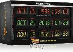 Box 4k Back To The Future 35th Anniversary Edition Time Circuits