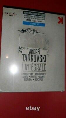 Box Blu Ray Andrei Tarkovski The Complete Version Restored Nine Under Blister