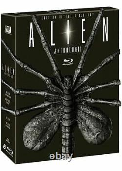 Box Blu-ray Alien Anthology Full Collection Edition Limited Numbered