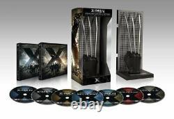 Box Bluray Disc X Men Wolverine Edition Adamantium Collector