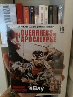 Box DVD Warriors From Lapocalypse Hk Video Like New