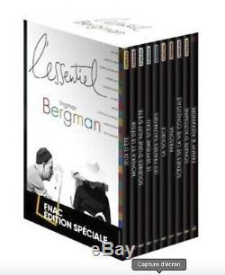 Box Essentials Ingmar Bergman Movies 10 10 New DVD Movies