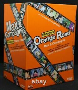 Box Full DVD Max And Company Orange Road Kimagure Scarce As New