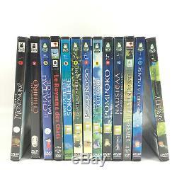 Box Lot 13 DVD Hayao Miyazaki / Studio Ghibli Collection