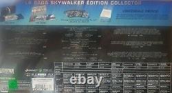 Box Star Wars Integral 4k + Blu Ray Edition Fnac Nine Sub Cellophane