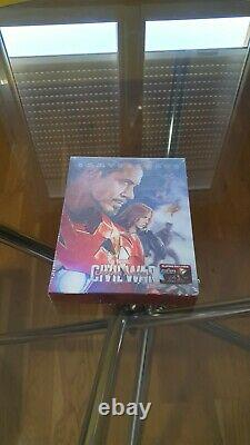 Captain America CIVIL War Bluray Steelbook Blufans Exclusive