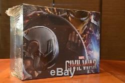 Captain America CIVIL War Prestige Edition Special Edition Case Fnac Steelbook Blura