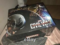 Captain America CIVIL War / Steelbook Blu-ray Box Special Edition Fnac