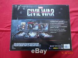 Captain America CIVIL War Steelbook Special Edition Fnac Blu-ray Box