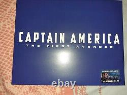 Captain America The First Avenger Blufans Lenticular Edition Steelbook Like