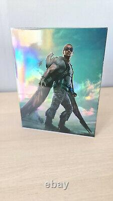 Captain America Winter Soldier Kimchidvd Lenticular Steelbook Bluray 3d