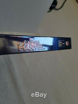 Captain Marvel Fanatic Selection No 1 Blufans Steelbook Bluray 4k