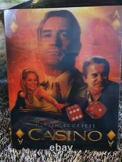 Casino Cinemuseum Cma 15 4k Uhd Steelbook Lenticular Fullslip