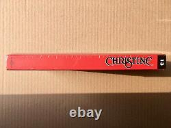 Christine John Carpenter Box Ultra Collector 4k Uhd + Blu-ray + DVD + Book
