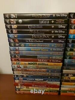 Christmas Big Lot 44 DVD Disney Cartoon Losange Child