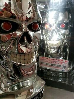 Coffret Head Bust, Terminator 2 New With Blu Ray DVD Ultimate Edition Limited