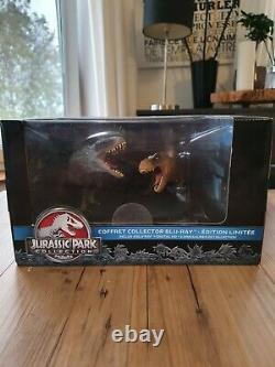 Coffret Jurassic Park Collection 3d Blu-ray Limited Edition Collector