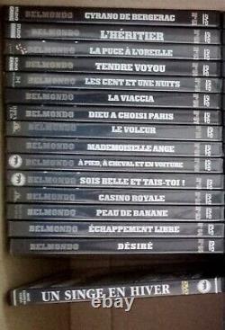 Collection DVD Jean Paul Belmondo 66 DVD