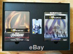 Collector Box Avengers Endgame Fnac