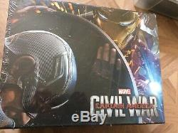Collector Captain America CIVIL War (limited And Numbered Edition) 3d Bluray