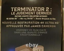 Collector Edition Limited Numbered Terminator 2 Arm Of The T800 + Blu Ray 3d +4k