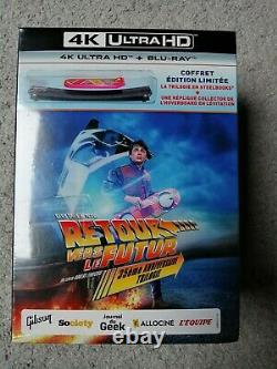 Collector's Box Back To The Future 4k And Blu Ray Limited Edition Overboard