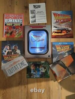 Collector's Box Back To The Future Ed 30th Anniversary Bluray Trilogy