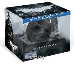 Collector's Box The Dark Knight Rises Bluray + Limited Edition Mask