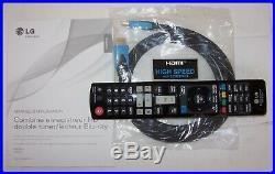 Combine Recorder Hard Disk-dual Tuner Hd-player Bluray + Dvd-lg Hr 500