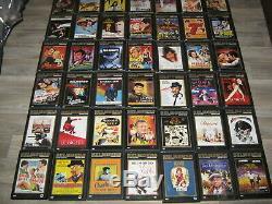 Complete Jean Paul Belmondo Lot Of 70 DVD Collection