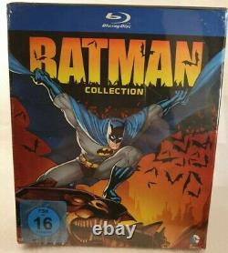DC Universe Batman Collection 9 Blu-ray Limited Edition German Import Ger/sp New