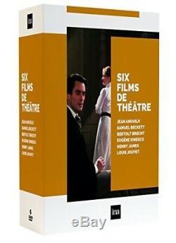 DVD 6 Theater Films (6 Dvd) Delphine Seyrig, Madeleine Renaud
