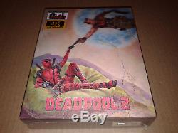 Deadpool 2 4k Uhd Blu-ray Double Lenticular Steelbook Fullslip E3 Filmarena # 107