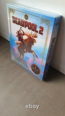 Deadpool 2 Exclusive Blufans # 54 Bluray Steelbook Single Lenticar