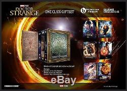 Doctor Strange Wea Steelbook 3d / 2d Blufans Exclusive # 42 One Click Box (china)