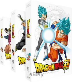 Dragon Ball Super Ultimate Tv Series Of 3 Collector Sets Blu-ray