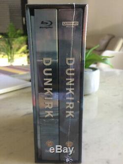 Dunkirk Blufans Oab Steelbook One-click Box Blu-ray 4k / Uhd New