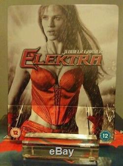 Elektra Zavvi Exclusive Bluray Steelbook Like New (like New) No Vf Rare