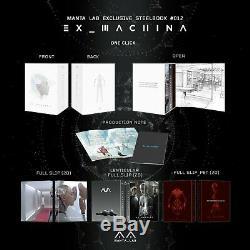 Ex Machina One Click Manta Lab # 12 Exclusive Steelbook Mint & Sealed